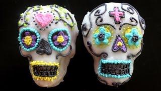Sugar Skull Cakes  RECIPE