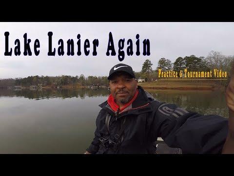 Lake Lanier Again (Practice & Tournament Video)