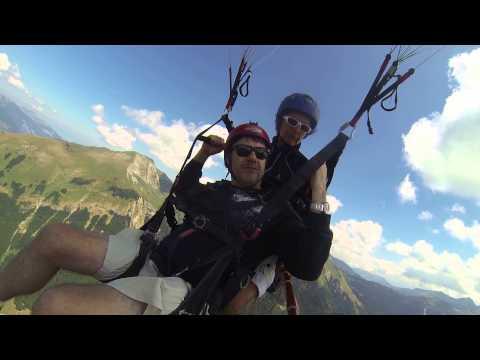 Paragliding Morzine Jul 2015