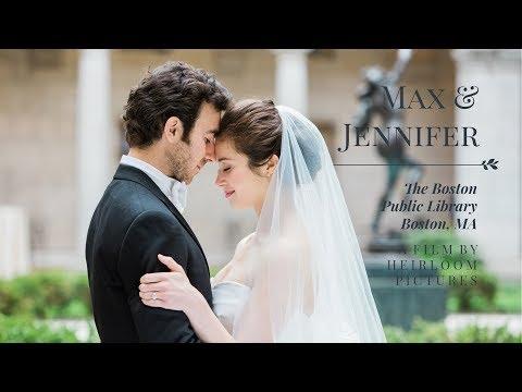 Jennifer and Max - A Joyful and Elegant Wedding at The Boston Public Library - Boston, MA
