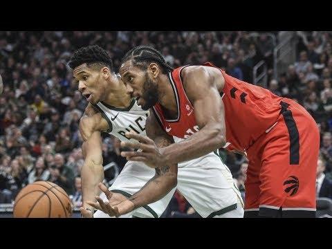 Giannis 43 Points vs Kawhi 30 Points! 2018-19 NBA Season