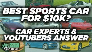 What's the best sports car you can buy for $10k?