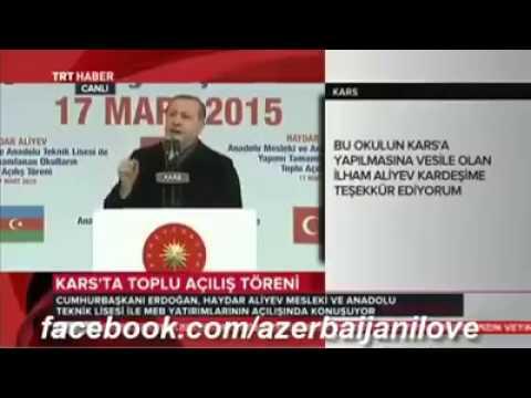 Receb  Tayyib Erdogan -Bextiyar Vahabzadenin seiri