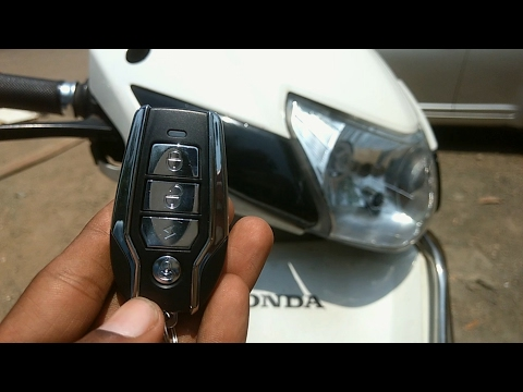 How to install anti-theft security alarm for all motorcycle's and scooters | Honda activa 3g