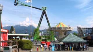 Playland PNE New Ride The Beast Monday May 18 2015 Best Quality HD Vancouver B.C. Canada