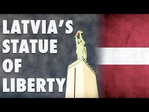 Latvia's Statue of Liberty