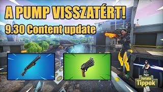 Finally a good patch! The pump is back! | 9.30 content Update [Fortnite]