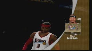 NBA Live 2005 Lakers vs Sixers
