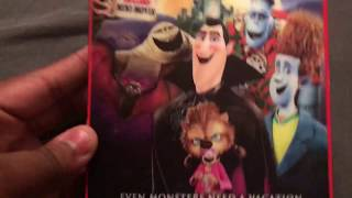 Hotel Transylvania 3D Blu ray unboxing
