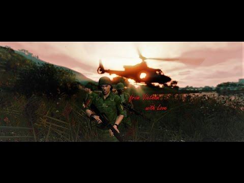 P.T.S.D.- Vietnam War Machinima in Grand Theft Auto V