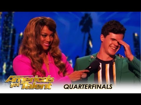 Joseph O'Brien: Shy Boy Forced To REVEAL His Crush On LIVE TV! | America's Got Talent 2018