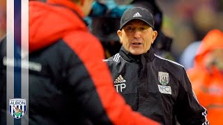 Tony Pulis reacts to today's 2-2 Premier League draw at Liverpool