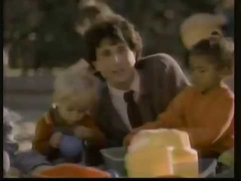AT&T Commercial with young Miko Hughes 1988