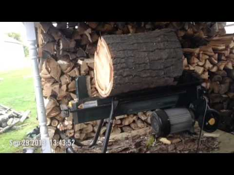 Yardworks 4-ton Log Splitter Update