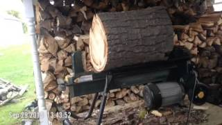 Yardworks 4-ton Log Splitter Update