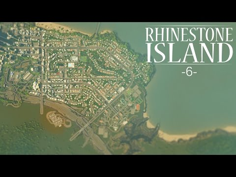 "Cities Skylines - Rhinestone Island [PART 6] ""Suburban College Campus"""