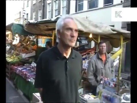 Terence Stamp Out and About in London 1997
