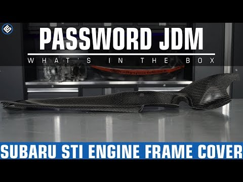 Password JDM Engine Frame Cover – Subaru STI/WRX 2015+