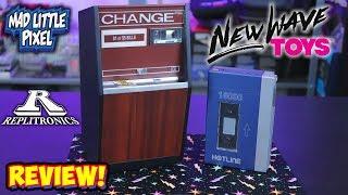 New Wave Toys Replitronics! Replica Retro Tech Hotline Power Bank & Charge Machine!