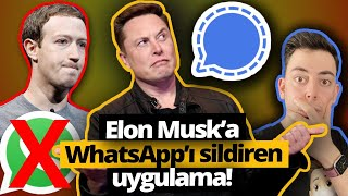 Elon Musk'a WhatsApp'ı sildiren Signal uygulamasını denedik! (Signal App nedir?)