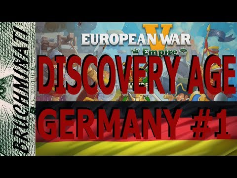 European War 5 | Germany Discovery Age Conquest #1
