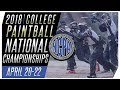 NCPA College National Championships - Free Paintball Webcast