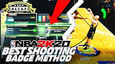 FASTEST SHOOTING BADGE UPGRADE METHOD ON NBA 2K20!! ANY BUILD CAN DO THIS!!