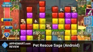 Обзор Pet Rescue Saga для Android