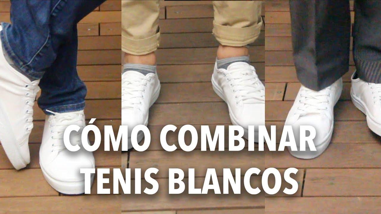 Cómo combinar TENIS BLANCOS | Humberto Gutiérrez