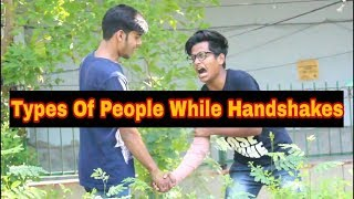 Types of people while shaking hand | BKLOL AddA thumbnail