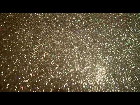 Iridescent GOLD Fine Sparkle Glitter Fabric Wall Covering