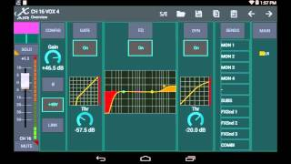 MIDAS + BEHRINGER X-AIR XR18 MR18: Using Android for the Apple User
