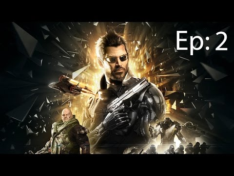 [FR-PC] Let's play Deus Ex Mankind Divided  Episode 2 - Bienvenue a Prague