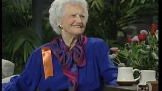 Florence Hodges, 93, of Dothan, Alabama on Johnny Carson's Tonight Show (Sep 27 1989)