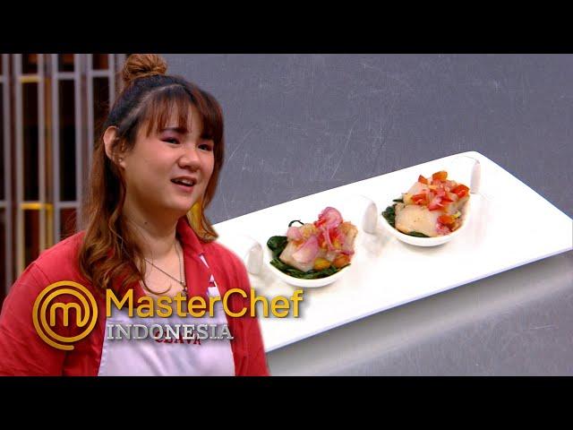 MASTERCHEF INDONESIA - Hidangan Clava Enak, Tapi Chef Juna Tak Setuju | TOP 5
