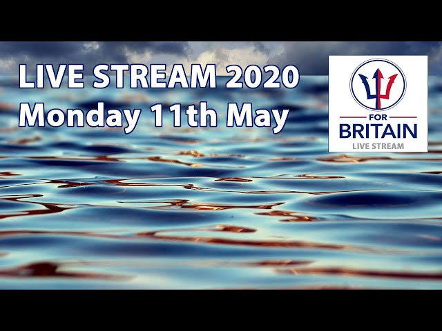 11th May 2020: For Britain Livestream from Anne Marie Waters