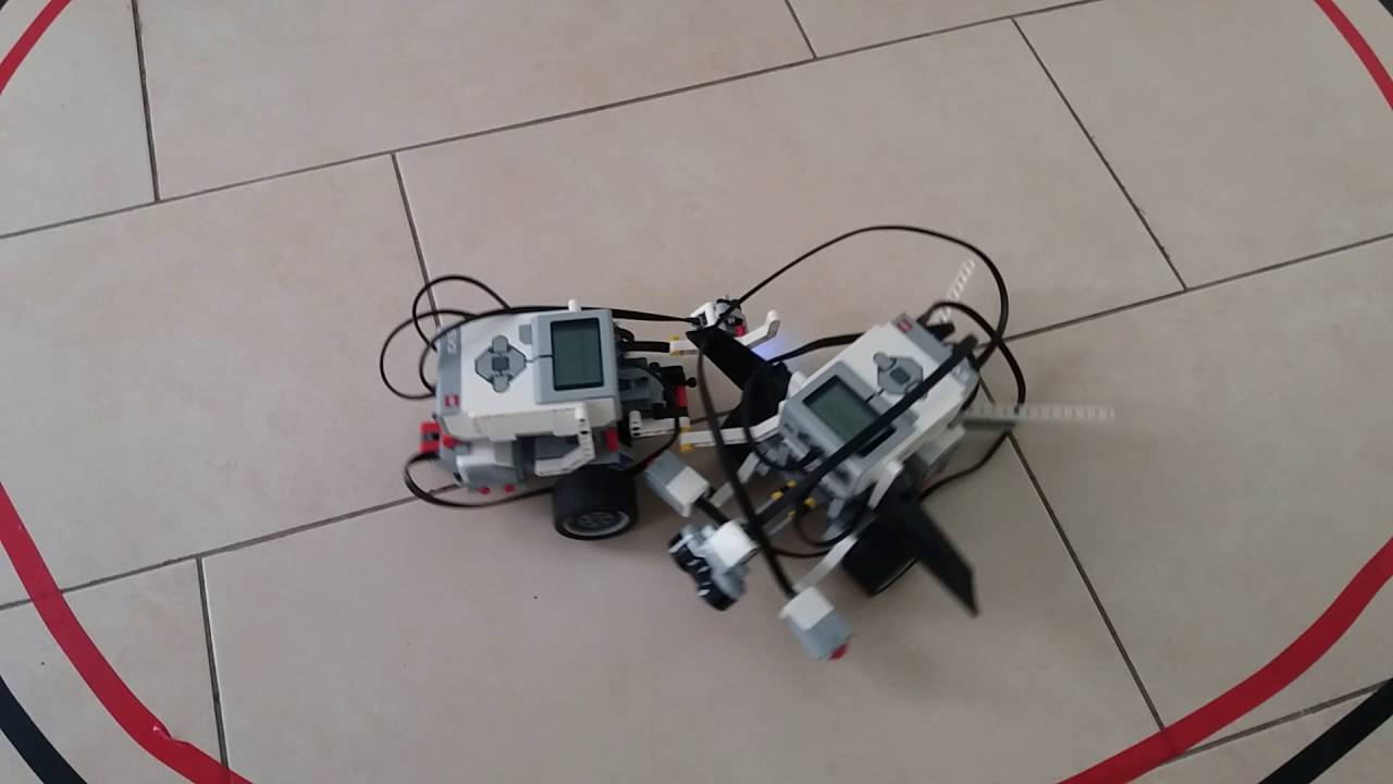 Robot sumo Lego MindStorms EV3 - YouTube