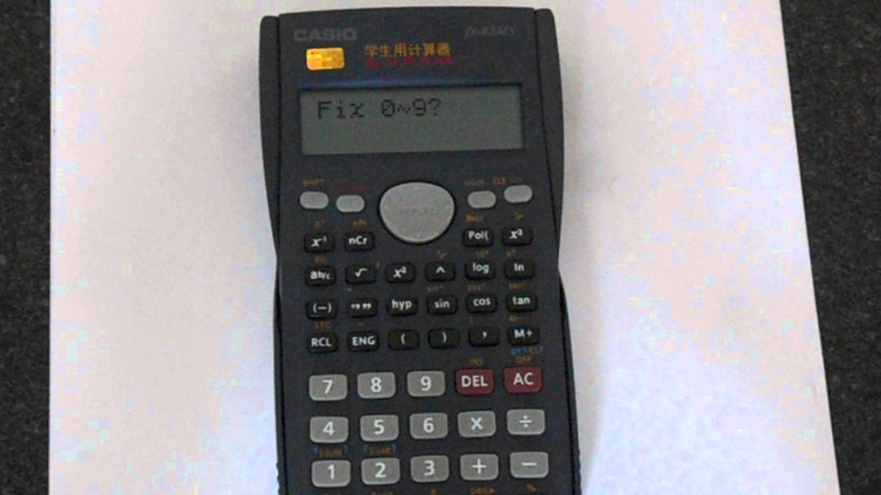 Working Casio Fx-83es Scientific Calculator Natural Display Back To School Choice Materials Business & Industrial