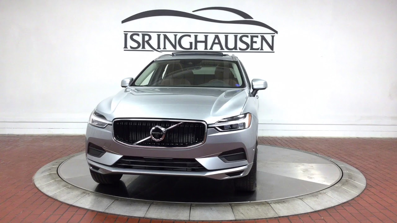 2018 volvo xc60 t5 awd momentum in electric silver. Black Bedroom Furniture Sets. Home Design Ideas