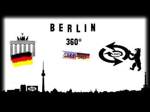 360 Camera Panorama Tour Berlin City