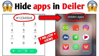 How To Hide Apps on Android 2021 (No Root) | Dialer Vault hide app | how to hide apps and videos screenshot 5