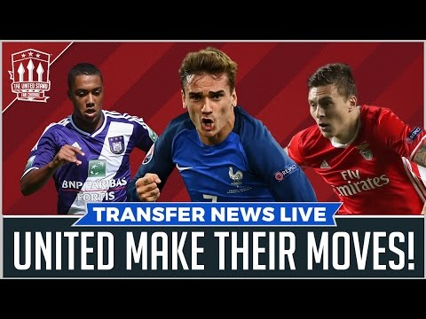 MANCHESTER UNITED CHASE LINDELOF & GRIEZMANN | TRANSFER NEWS