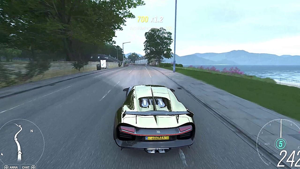 Forza Horizon 4 ( Bugatti Chiron 2018) Prueba de manejo - YouTube