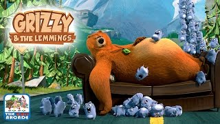 Grizzy and the Lemmings: Lemmings Sling - Catch