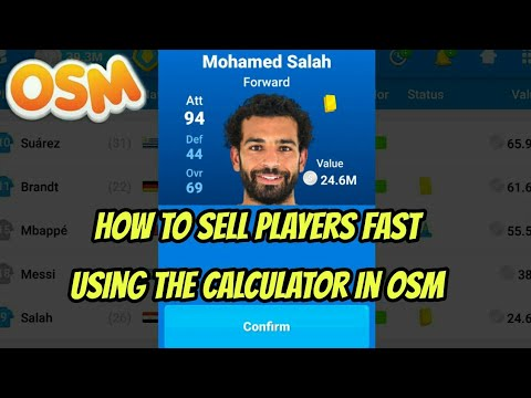 OSM How To Sell Players Fast (Transfer List Secrets)