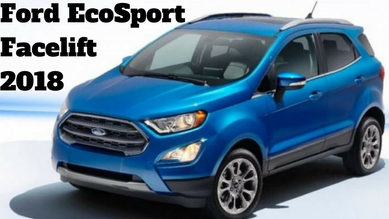 India Bound Ford Ecosport Facelift