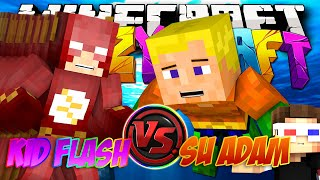 SU ADAM VS KİD FLASH! (Aquaman) | Minecraft Türkçe Crazy Craft : #33