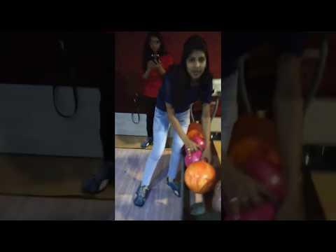 Nikki at Bowling Aley Pacific Mall