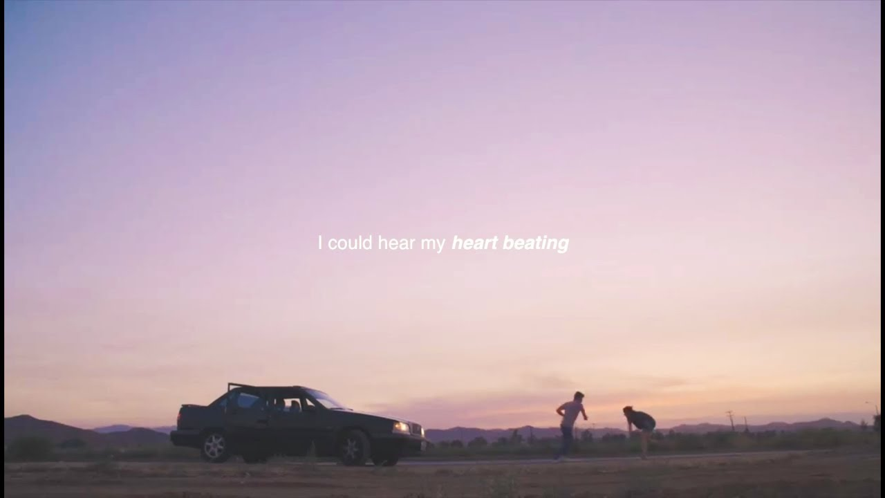 I could hear my heart beating.