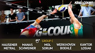 Men's Group C - Session 3 | Beach Volleyball | King of the Court Utrecht 2020
